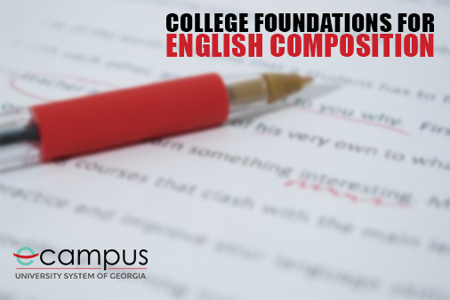 College Foundations for English Composition